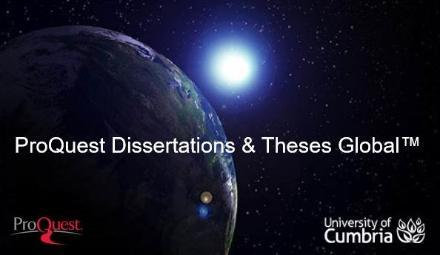 DissertationsandThesesGlobal,