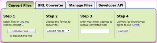 Converting Files | MyCumbria