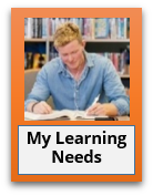 My Learning Needs Btn, My Learning Needs Btn