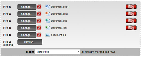 Joining different files into one document | MyCumbria